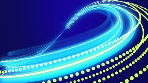 Animated Blue Abstract Background stock footage