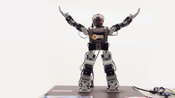 Robot dancing in Gangnam Style Live Action