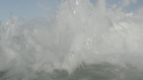 Wave footage in the Atlantic Ocean - Rio de Janeiro, Brazil Footage