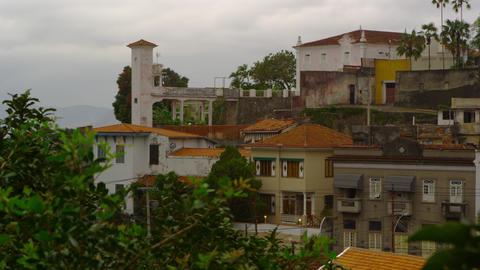Static shot of a Rio de Janeiro neighborhood Footage