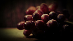 Close up bunch of Grapes HD stock footage Footage