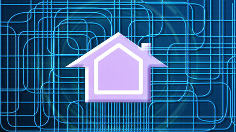 Digital Home Technology stock footage