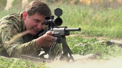 Shooting A Gun 0