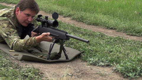 Loading Rifles and Shot, Live Action