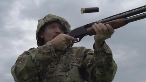 Hunter Shoots a Gun Footage