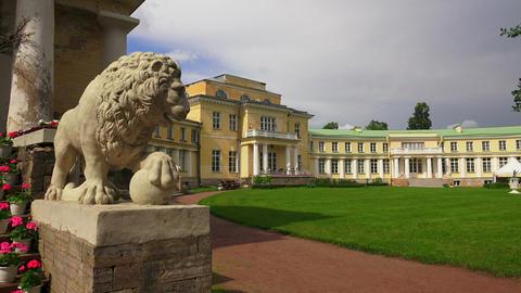 The Estate Marino In The Leningrad Region. 4K stock footage