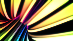 Wormhole Through Time And Space, In Rainbow Colors stock footage