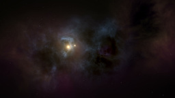 Flying Through Stars And Nebulas stock footage