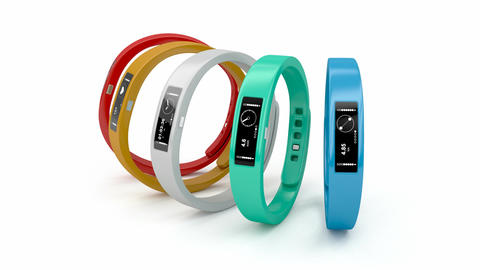 Fitness trackers Animation