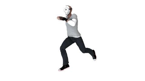 ホッケーマスク Animation