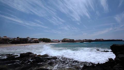 waves braking at Taraffal Footage