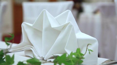 white napkin Footage