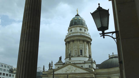 French Cathedral at Gendarmenmarkt Live Action