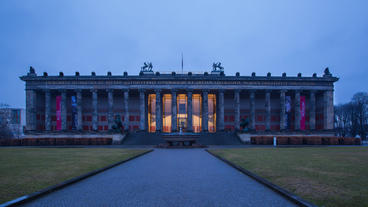 Old Museum Berlin stock footage