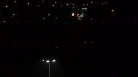 Rainy night Stock Video Footage