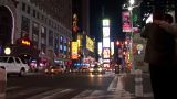 New York Night Timelapse stock footage
