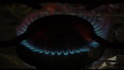 Coocking stove Stock Video Footage