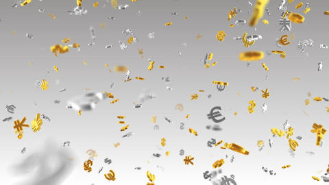 Money Symbol 2A dollar Euro Yen Sw Animation