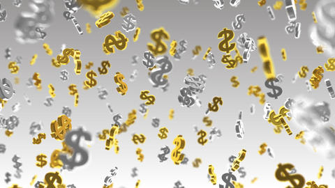 Money Symbol 2B dollar w HD Animation
