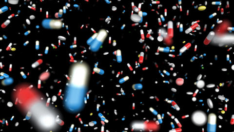 Medicine Drug 2aB Capsule Tablet pills Stock Video Footage