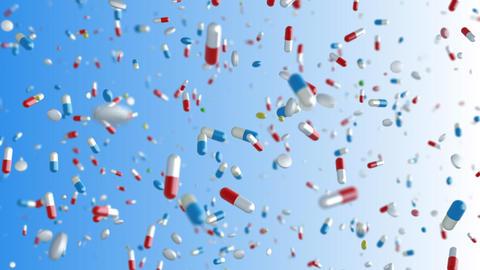 Medicine Drug 2bC Capsule Tablet pills Stock Video Footage