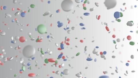 Medicine Drug 2bW Tablet pills Stock Video Footage