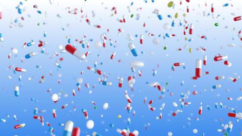 Medicine Drug 2cC Capsule Tablet pills Stock Video Footage
