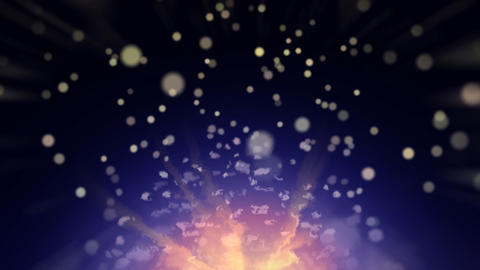 Moving Particles Stock Video Footage