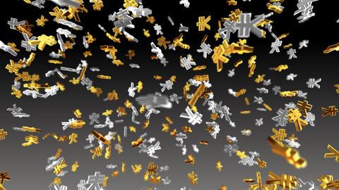 Money Symbol 2F Yen b Stock Video Footage