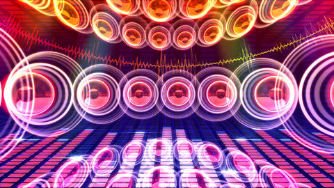 DJ Sound C1c Stock Video Footage