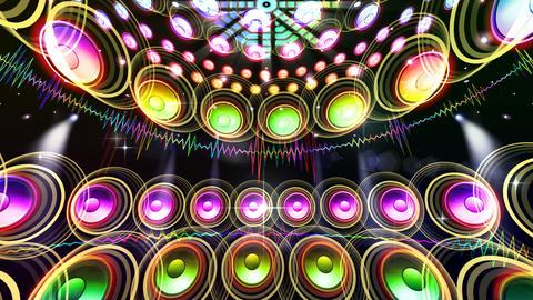 DJ Sound C2d Stock Video Footage