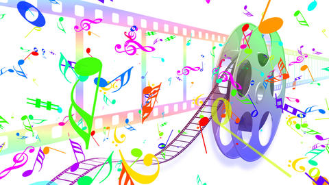 Music Film Ac1 HD Stock Video Footage