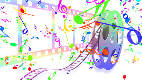 Music Film Ac1 HD stock footage