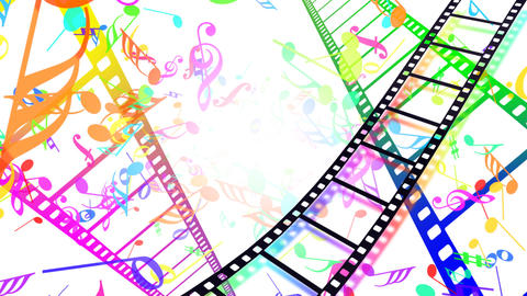 Music Film Bc1 Stock Video Footage