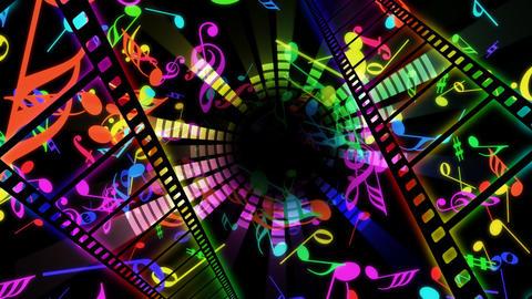 Music Film Cc2 Stock Video Footage
