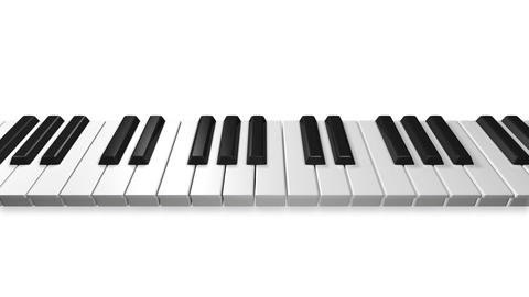 Music keyboard 2a Animation