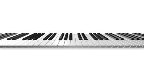 Music keyboard 3a Animation