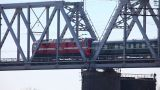 Railway Bridge stock footage