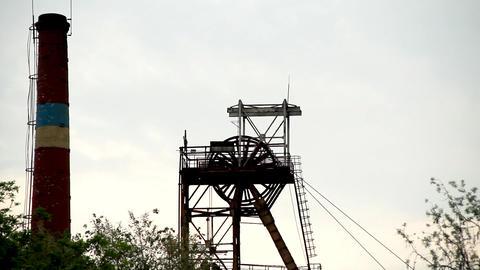 Mine tower Stock Video Footage
