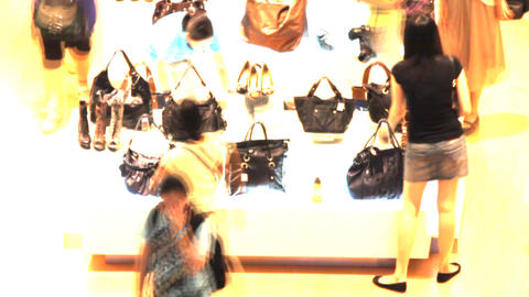 shoes sale Stock Video Footage