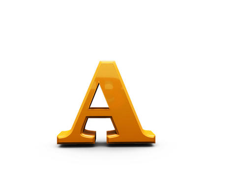 Letters sign. Alphabet Animation
