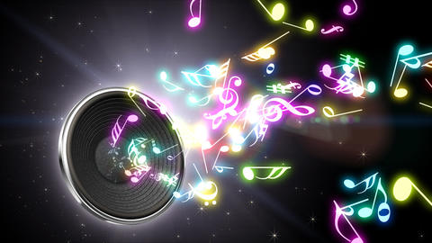 Music Notes Jet A S4 Animation