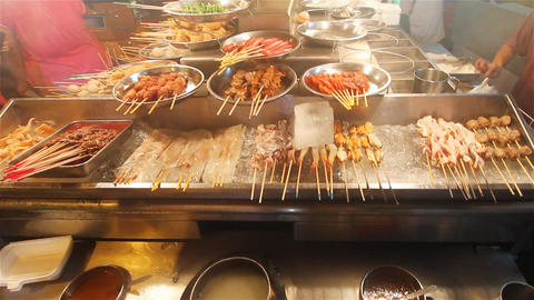 Asian food Stock Video Footage
