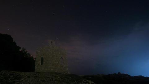 Sky chapel Stock Video Footage