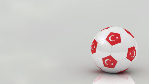 Turkish soccer ball Animation
