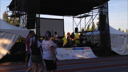 Special event with relay for life concert Live Action
