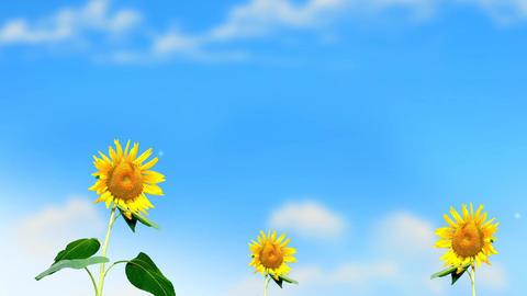 Waving Sunflowers Animation