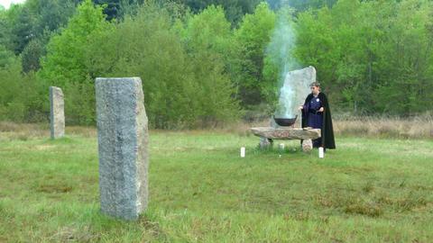 druidic ritual 05 Footage