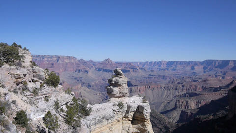 AERIAL: Majestic Grand Canyon stock footage