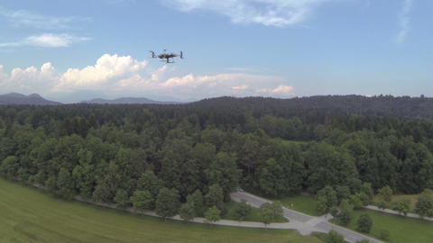 AERIAL: RC Helicopter Footage
